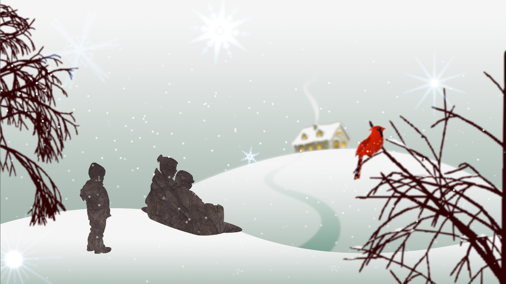 Holiday Greeting Card - Illustration 2